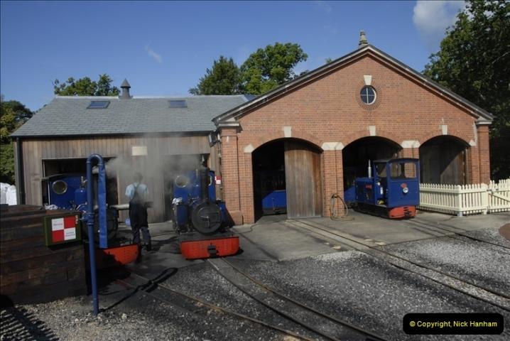 2011-07-24 Exbury Gardens Railway, Hampshire.  (1)080