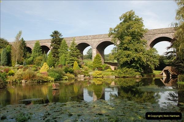 2012-09-06 S&DJR Shepton Mallet Viaduct now part of Kilver Court Gardens.  (01)250