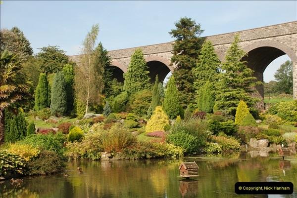 2012-09-06 S&DJR Shepton Mallet Viaduct now part of Kilver Court Gardens.  (2)251