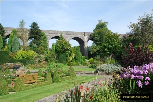 2012-09-06 S&DJR Shepton Mallet Viaduct now part of Kilver Court Gardens.  (3)252