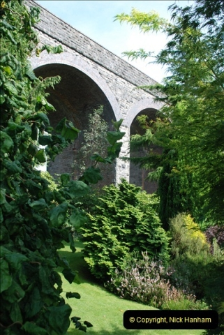 2012-09-06 S&DJR Shepton Mallet Viaduct now part of Kilver Court Gardens.  (5)254