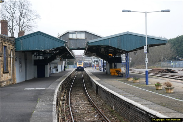 2014-01-30 Yeovil Pen Mill Station, Yeovil, Dorset.  (14)139