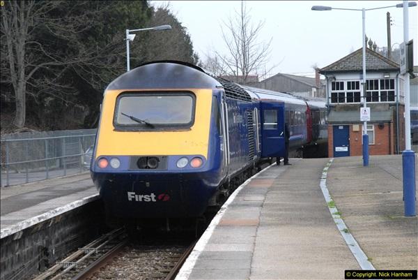 2014-01-30 Yeovil Pen Mill Station, Yeovil, Dorset.  (29)154