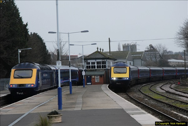 2014-01-30 Yeovil Pen Mill Station, Yeovil, Dorset.  (31)156