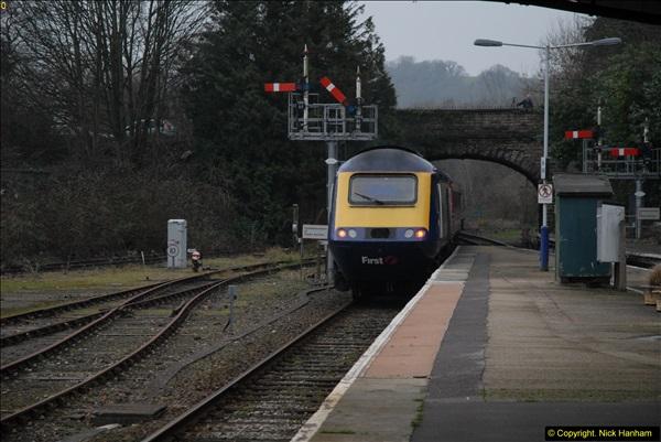 2014-01-30 Yeovil Pen Mill Station, Yeovil, Dorset.  (34)159