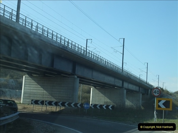 2013-04-06 The HS1 rail structure over the River Medway, Kent  (6)058