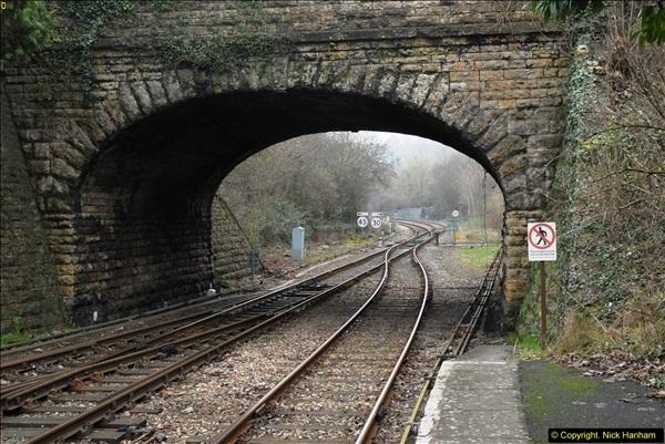 2014-01-30 Yeovil Pen Mill Station, Yeovil, Dorset.  (21)146