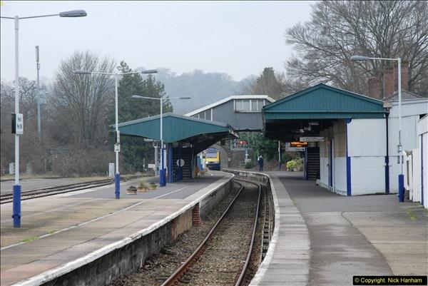 2014-01-30 Yeovil Pen Mill Station, Yeovil, Dorset.  (4)129