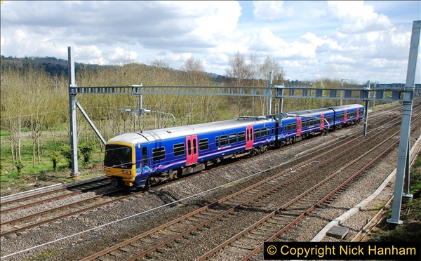 2016-04-14 GW Main Line near Pangbourne, Berkshire.  (17)0124
