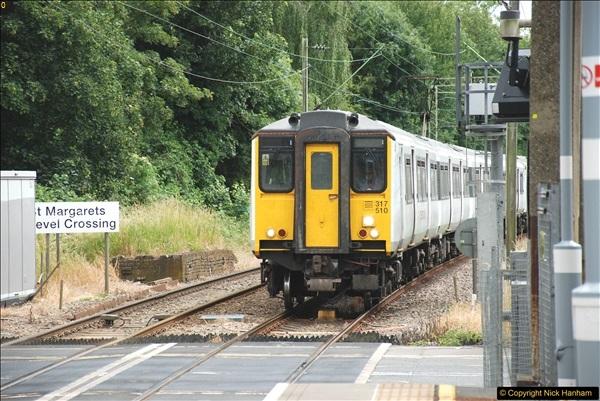 2018-06-19 St. Margarets, Ware & Hertford East stations, Hertfordshire.  (6)142