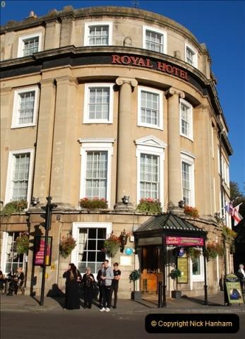 2018-10-21 Bath Spa Station, Royal Hotel, Bath, Somerset.   (7)371