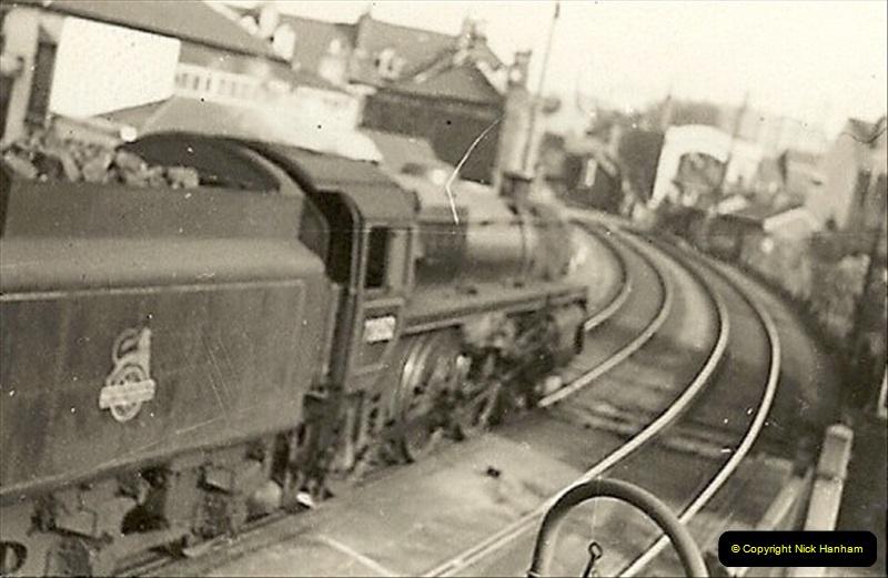 1955 to 1959 British Railways in Black & White. Local Bournemouth & Poole. (1)001