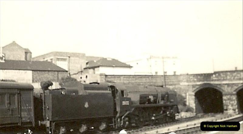 1955 to 1959 British Railways in Black & White. Local Bournemouth & Poole. (13)013