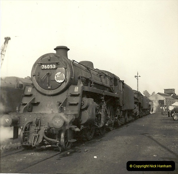 1955 to 1959 British Railways in Black & White. Local Bournemouth & Poole. (30)030