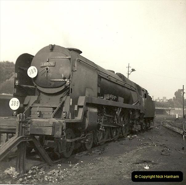 1955 to 1959 British Railways in Black & White. Local Bournemouth & Poole. (31)031