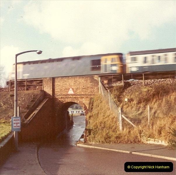 1977 Summer. Parkstone, Poole, Dorset.   (11)074