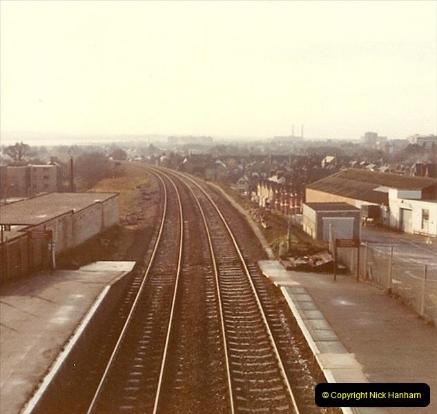 1977 Summer. Parkstone, Poole, Dorset.   (18)081