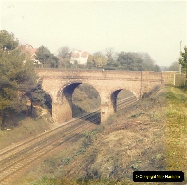 1977 Summer. Parkstone, Poole, Dorset.   (3)066