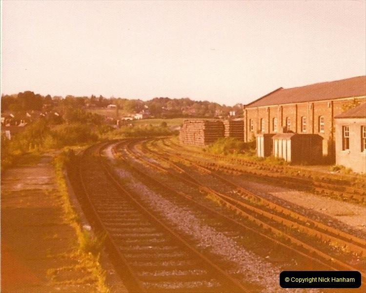 1977 Wimborne & Broadstone, Dorset.  (4)089