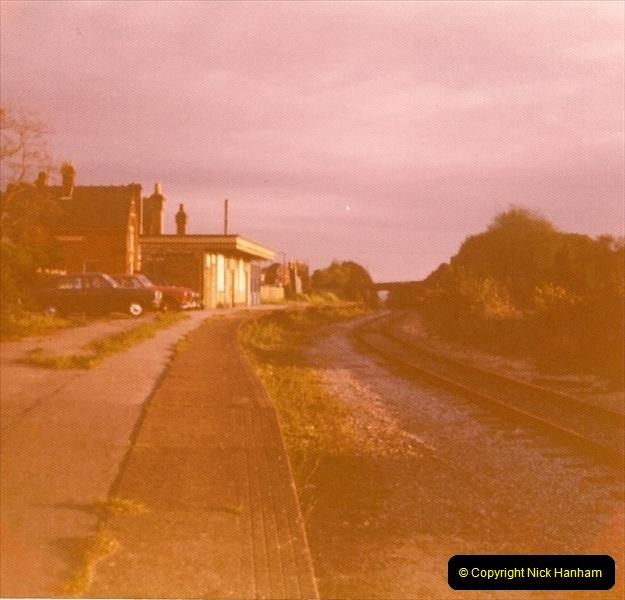 1977 Wimborne & Broadstone, Dorset.  (7)092