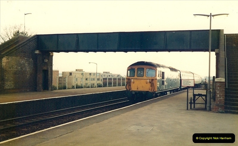 1981 May. Parkstone, Poole, Dorset.  (4)132