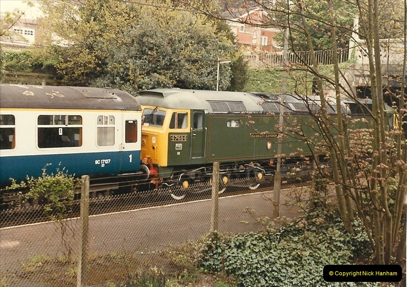 1985 May. Parkstone, Poole, Dorset.  (2)334