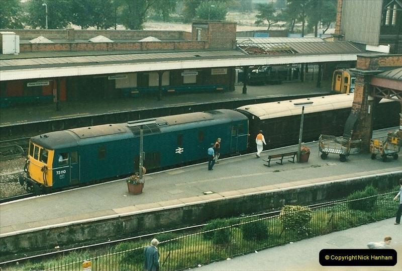 1985 September. Bournemouth, Dorset.  (5)337