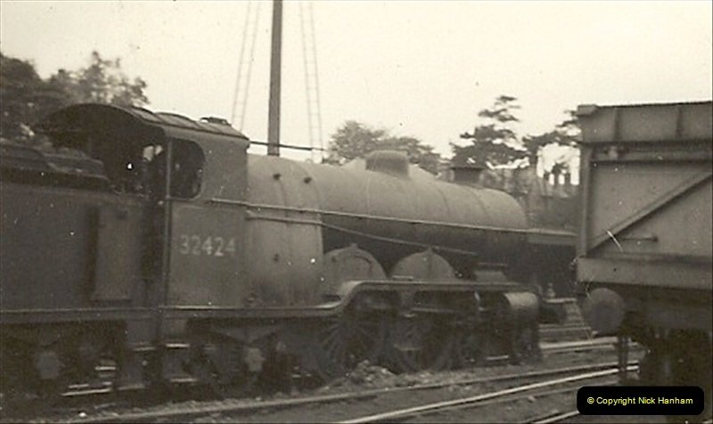 1955 to 1959 British Railways in Black & White. Local Bournemouth & Poole. (11)011