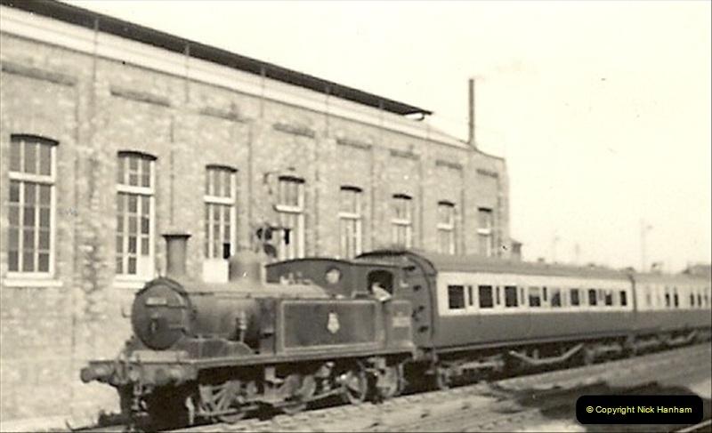 1955 to 1959 British Railways in Black & White. Local Bournemouth & Poole. (12)012