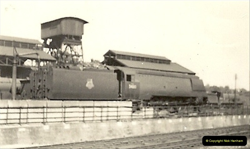 1955 to 1959 British Railways in Black & White. Local Bournemouth & Poole. (14)014