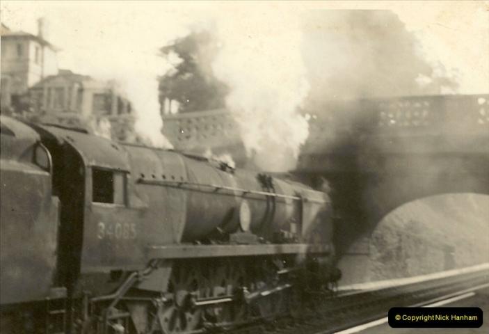 1955 to 1959 British Railways in Black & White. Local Bournemouth & Poole. (16)016