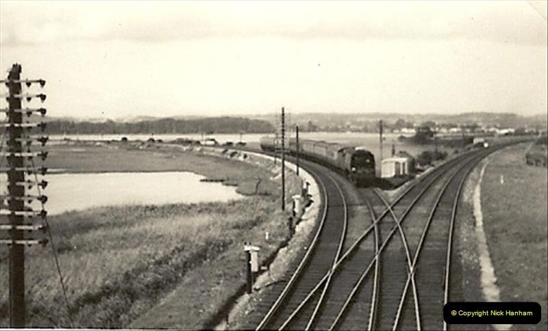1955 to 1959 British Railways in Black & White. Local Bournemouth & Poole. (17)017