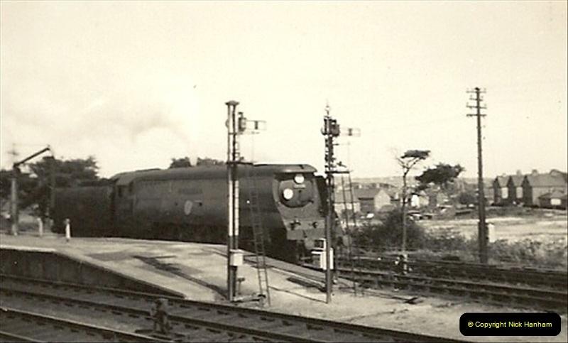 1955 to 1959 British Railways in Black & White. Local Bournemouth & Poole. (18)018