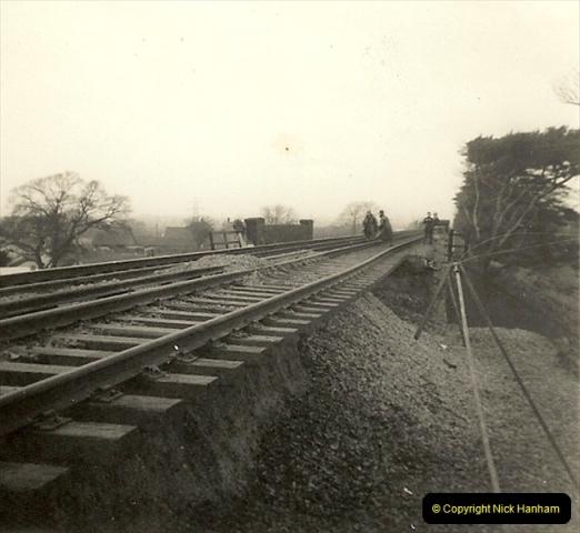 1955 to 1959 British Railways in Black & White. Local Bournemouth & Poole. (19)019