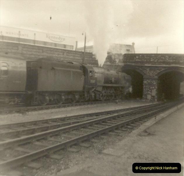 1955 to 1959 British Railways in Black & White. Local Bournemouth & Poole. (22)022