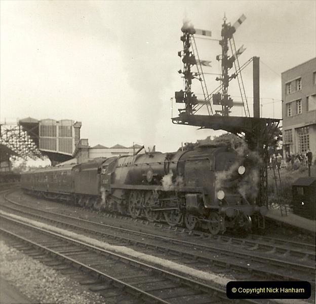 1955 to 1959 British Railways in Black & White. Local Bournemouth & Poole. (23)023