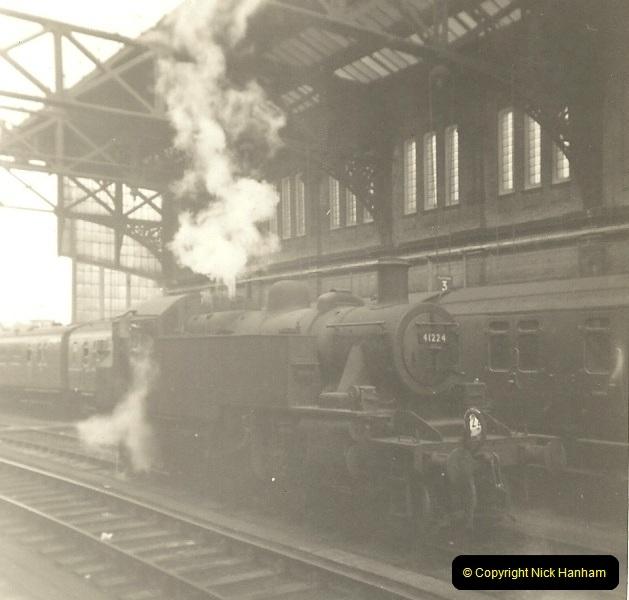 1955 to 1959 British Railways in Black & White. Local Bournemouth & Poole. (24)024