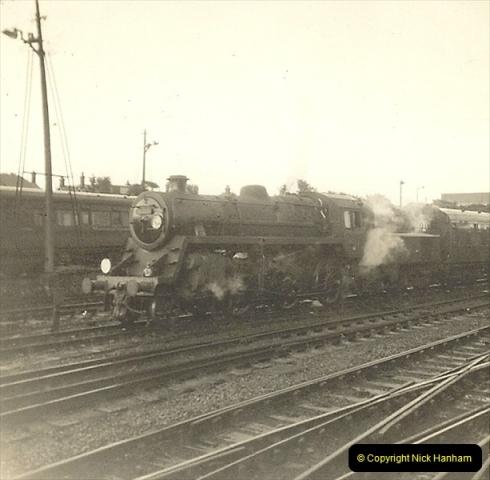 1955 to 1959 British Railways in Black & White. Local Bournemouth & Poole. (25)025