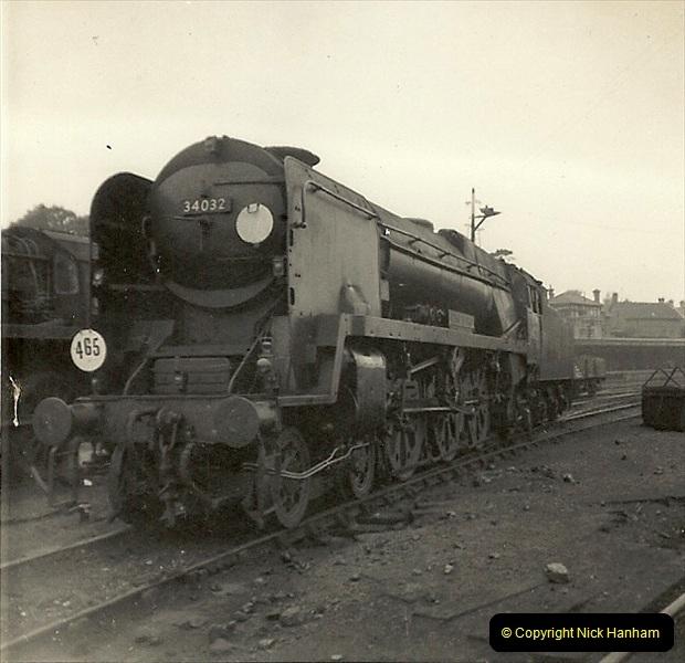 1955 to 1959 British Railways in Black & White. Local Bournemouth & Poole. (27)027