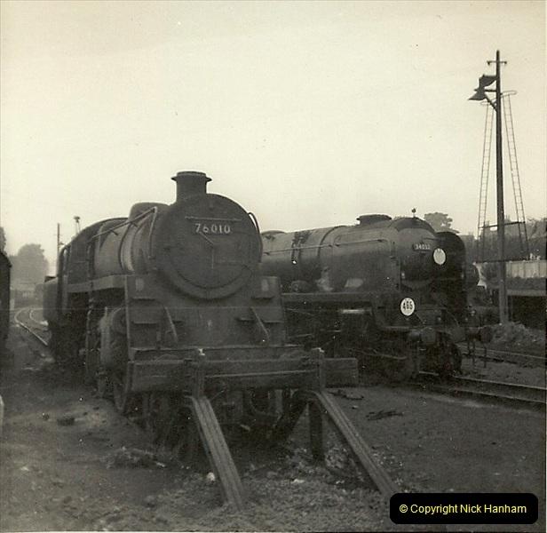 1955 to 1959 British Railways in Black & White. Local Bournemouth & Poole. (28)028