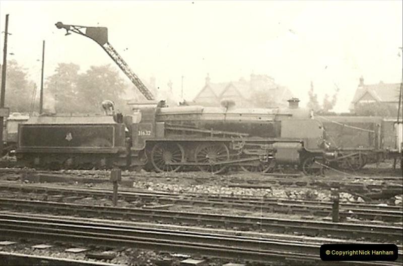 1955 to 1959 British Railways in Black & White. Local Bournemouth & Poole. (3)003