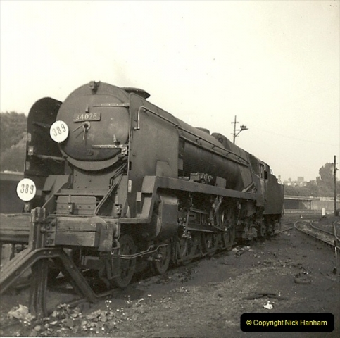 1955 to 1959 British Railways in Black & White. Local Bournemouth & Poole. (31)031