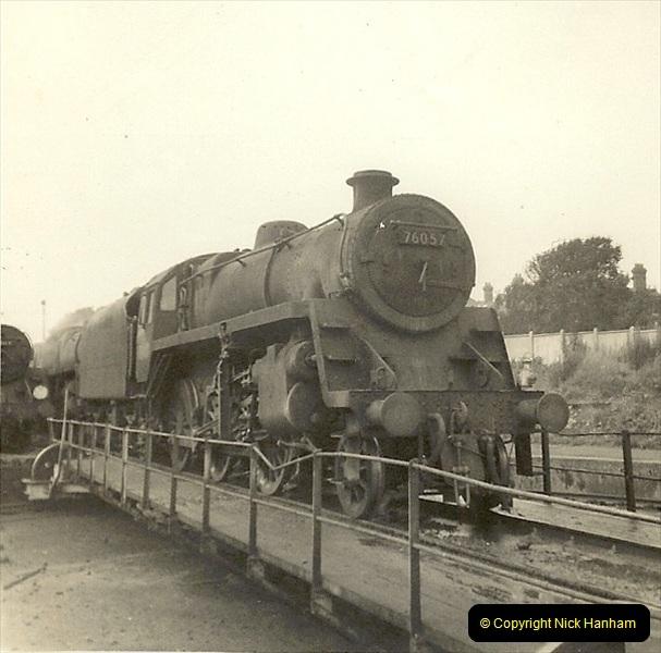 1955 to 1959 British Railways in Black & White. Local Bournemouth & Poole. (33)033