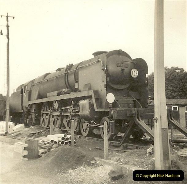 1955 to 1959 British Railways in Black & White. Local Bournemouth & Poole. (35)035