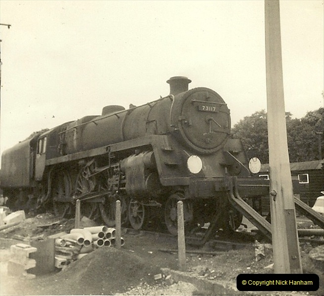 1955 to 1959 British Railways in Black & White. Local Bournemouth & Poole. (36)036