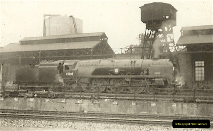 1955 to 1959 British Railways in Black & White. Local Bournemouth & Poole. (8)008