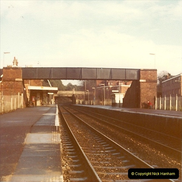 1977 Summer. Parkstone, Poole, Dorset.   (17)080