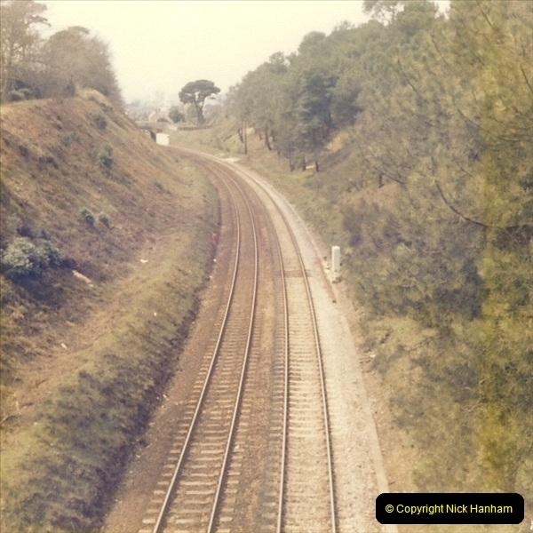 1977 Summer. Parkstone, Poole, Dorset.   (2)065