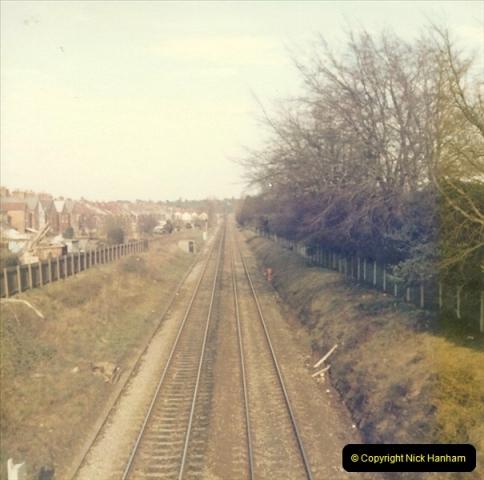 1977 Summer. Parkstone, Poole, Dorset.   (7)070