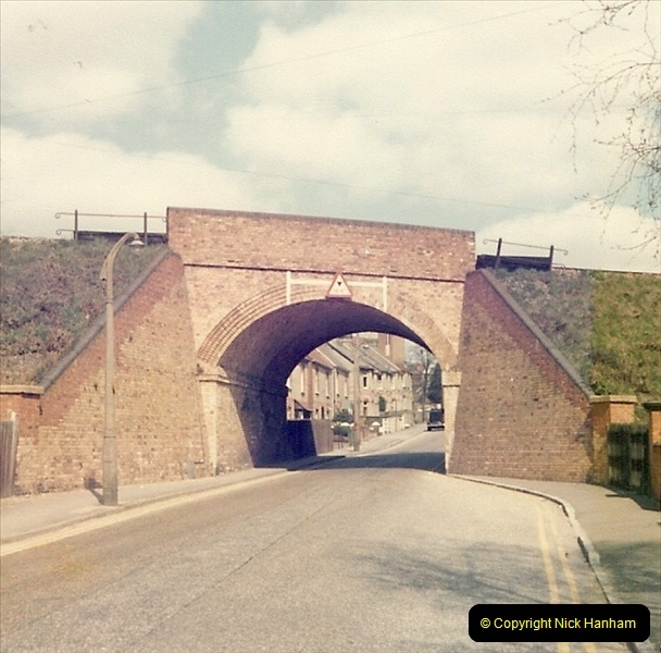 1977 Summer. Parkstone, Poole, Dorset.   (9)072